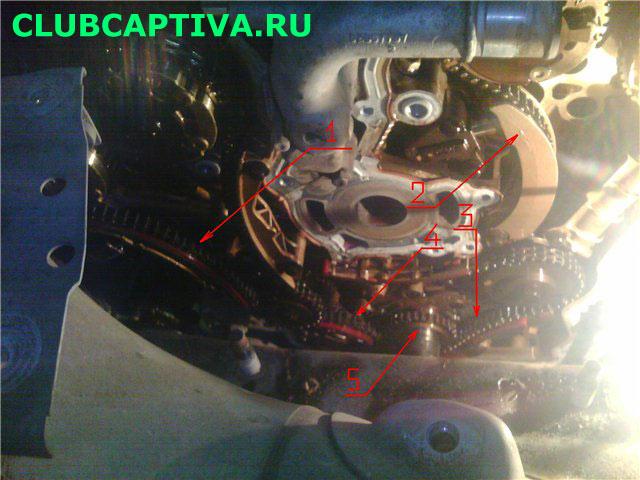 Цепь ГРМ Chevrolet Captiva