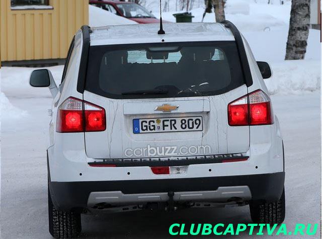 Новое поколение Chevrolet Captiva