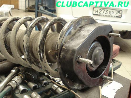 Увеличение клиренса Chevrolet Captiva