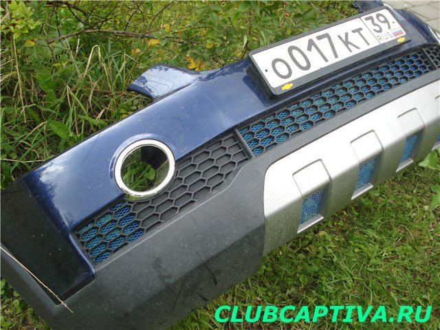 Бампер Chevrolet Captiva
