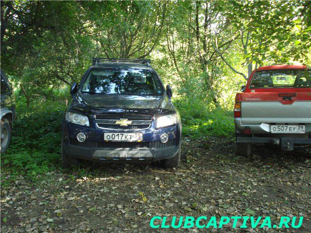 Установка защитной сетки на Chevrolet Captiva
