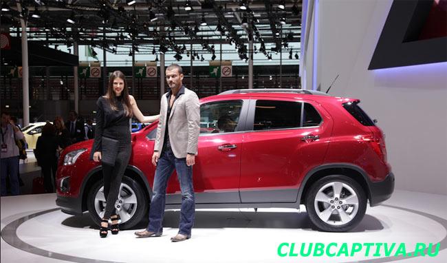 Chevrolet Tracker презентация