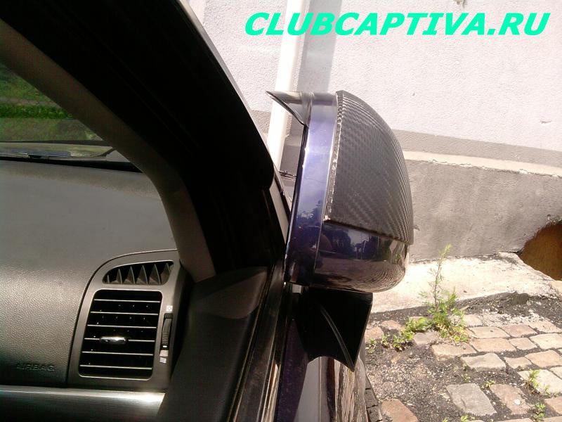 Ветровички на боковых стеклах Chevrolet Captiva